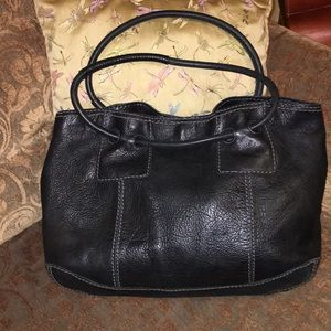 Fossil pebbled leather tote NWOT